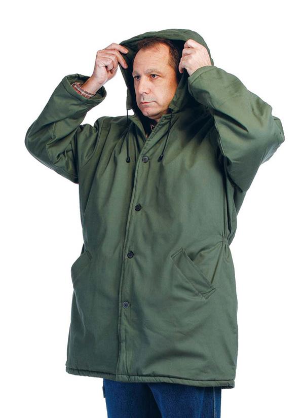 NORMA kabát vatovaný - L