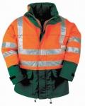 BRIGHTON HV bunda oranžová/navy S