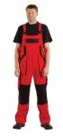MAX kalhoty lacl 260g červená/černá 60