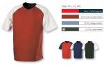 Tričko pánské krátký raglánový rukáv 190g/m2 - Balení: 5 ks